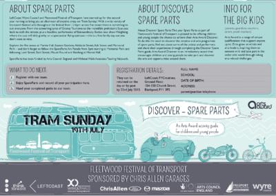 Joonmeedia graafiline disain kujundamine I Spare Parts cover