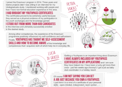 Joonmeedia infograafika I infographic I Youthpass infographic 2