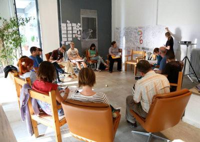 Joonmeedia - graphic facilitation as a tool for learning - tool fair joonmeedia creece