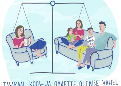 Joonmeedia illustratsioon - Tarkvanem.ee kriisiolukord ja tasakaal